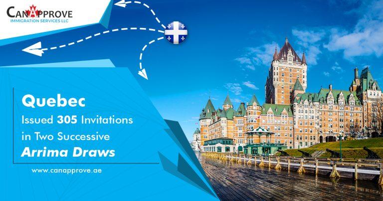Quebec Arrima draw