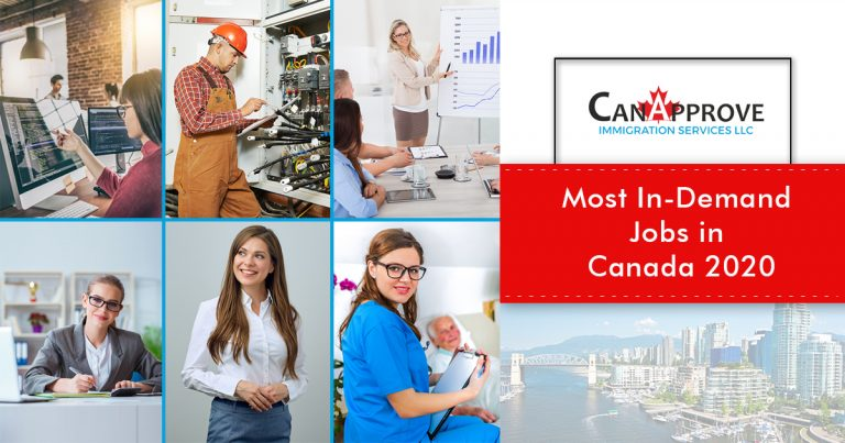 Most In-Demand jobs in Canada 2020