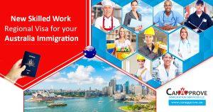 New Skilled Work Regional Visa