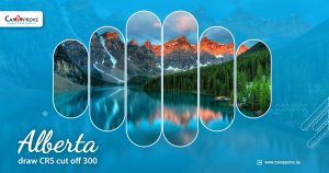 Alberta draw CRS cut off 300