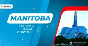 Manitoba PNP draw issues 181 invites